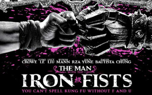 Primer póster de The Man With The Iron Fists