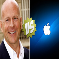 Bruce Willis planea demandar a Apple