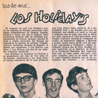 #MemoriaRock Los Holiday's: pop sesentero