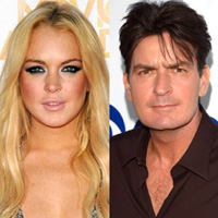 Lindsay Lohan y Charlie Sheen a Scary Movie 5