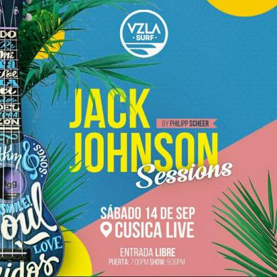 El Jack Johnson Sessions regresa a Cusica Live!